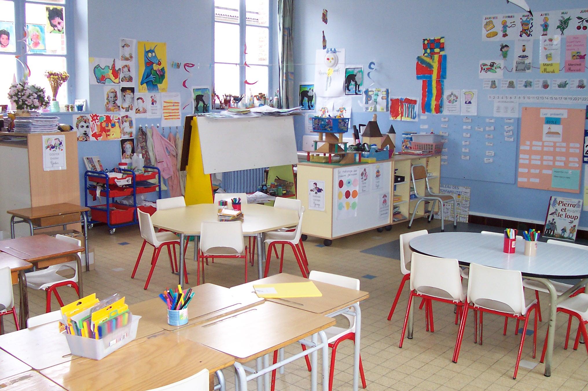 La classe de maternelle grande section - Image classe maternelle ...